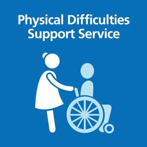 Physical Difficulties Support Services Banner