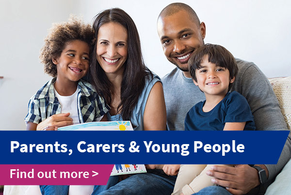 Parents and Carers Homepage Banner
