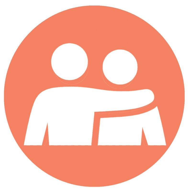 Bereavement support icon